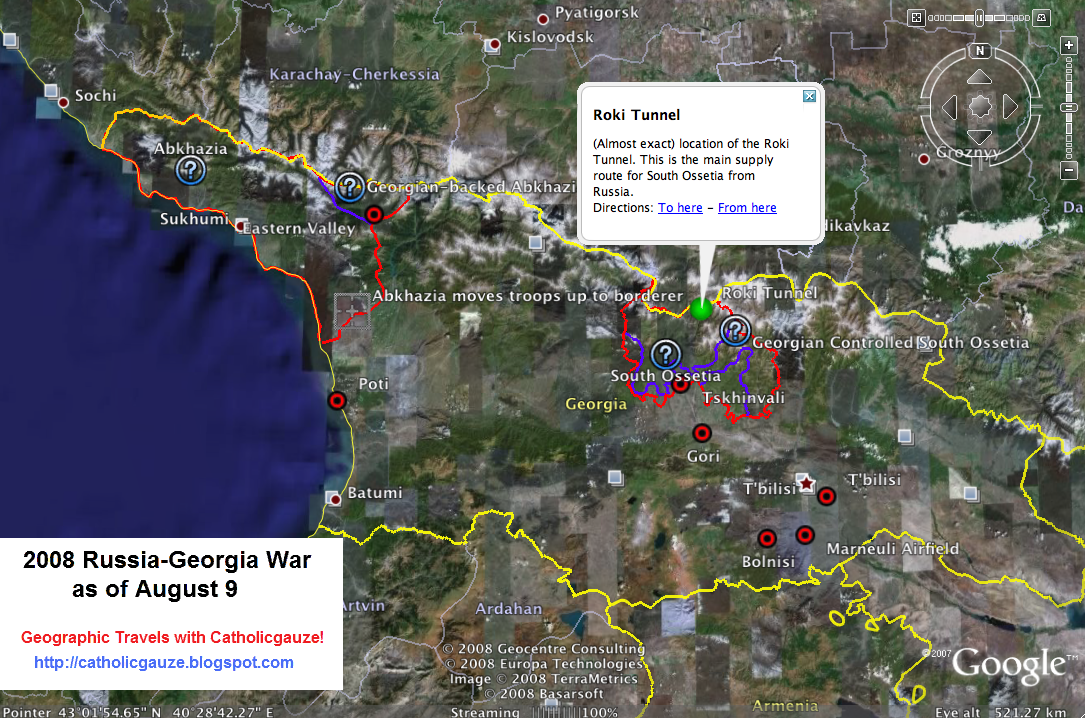 Crisis Mapping the Conflict in Georgia Updated iRevolutions