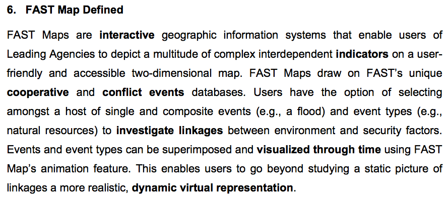 Fast Mapping Definition The Past and Future of Crisis Mapping | iRevolutions