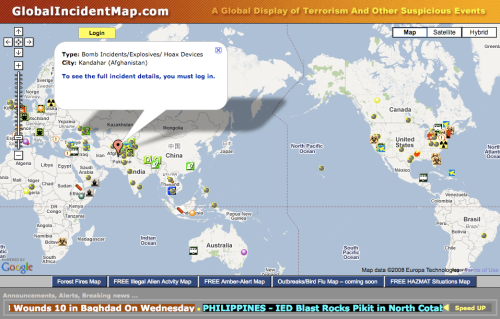 Global Incident Map Global Incident Map | iRevolutions Global Incident Map
