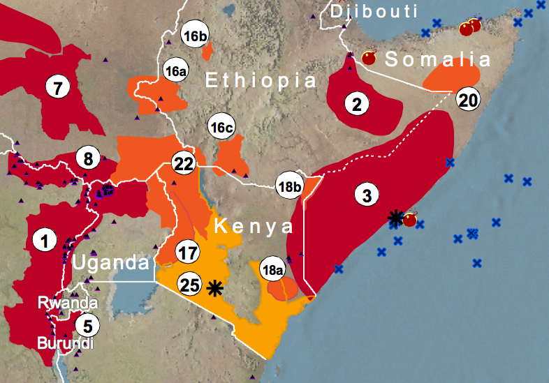 Crisis Mapping Africas Crossborder Conflicts iRevolutions