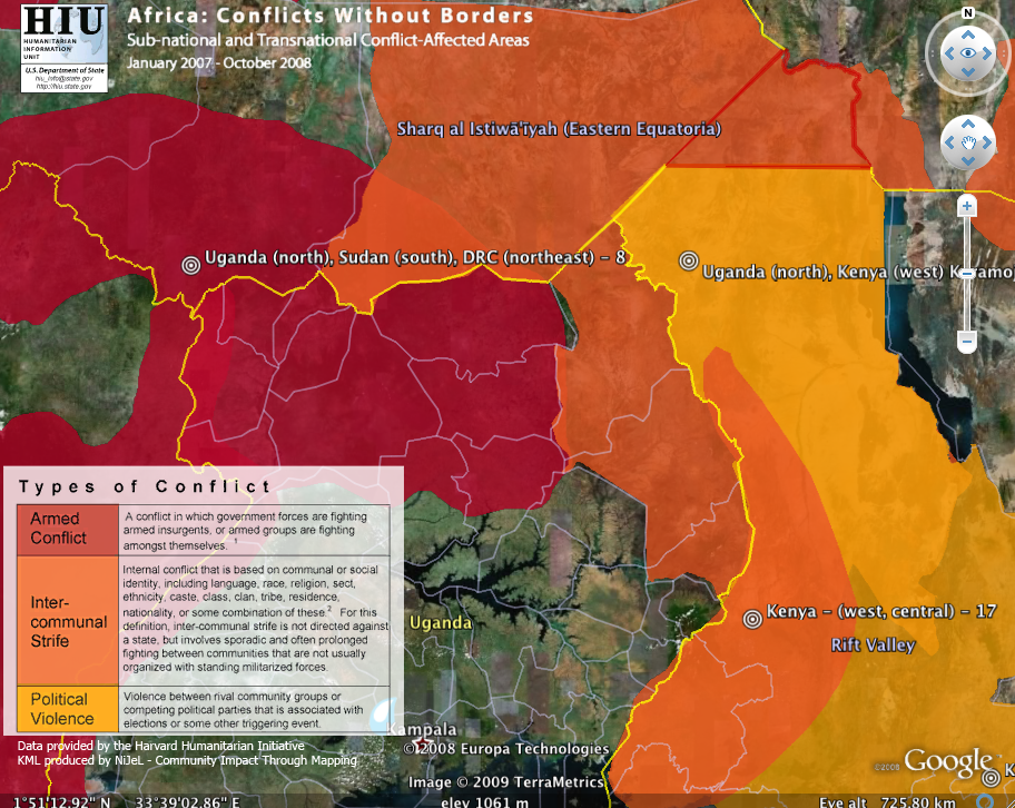 Africas crossborder conflicts on google earth irevolutions gumiabroncs Images