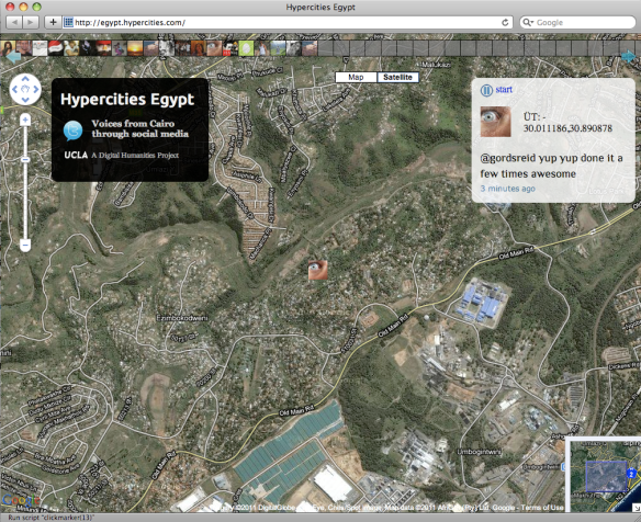 Crisis Mapping Egypt: Collection of Protest Maps (Updated