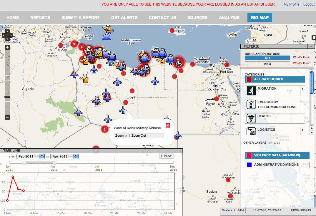 Crisis Mapping Libya This is No Haiti Updated iRevolutions