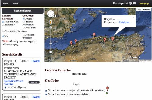 QCRI GeoTagger 1