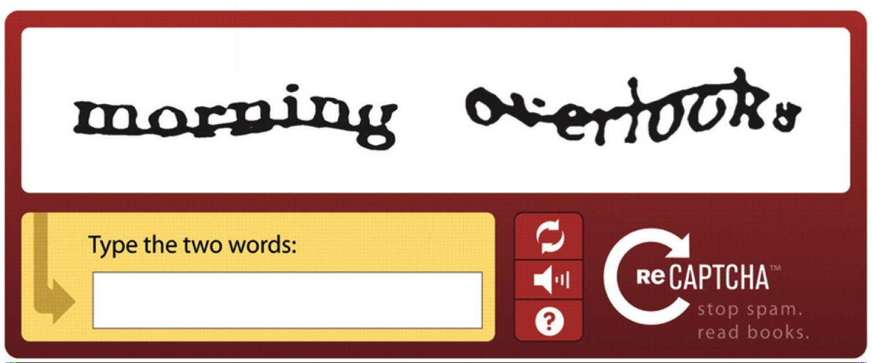reCAPTCHA system