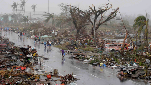 Yolanda destruction