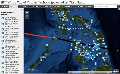 YolandaPH Crisis Map 2