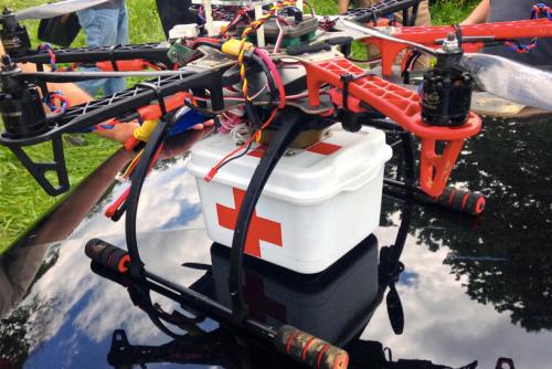 UAV payload unit