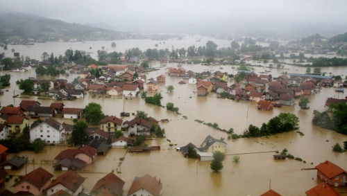 Image: Flood in Bosnia and Herzegovina
