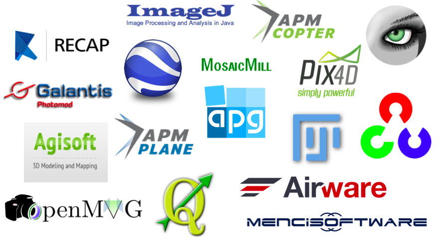 New List Of Software For UAVs And Aerial Imagery IRevolutions - Aerial mapping software