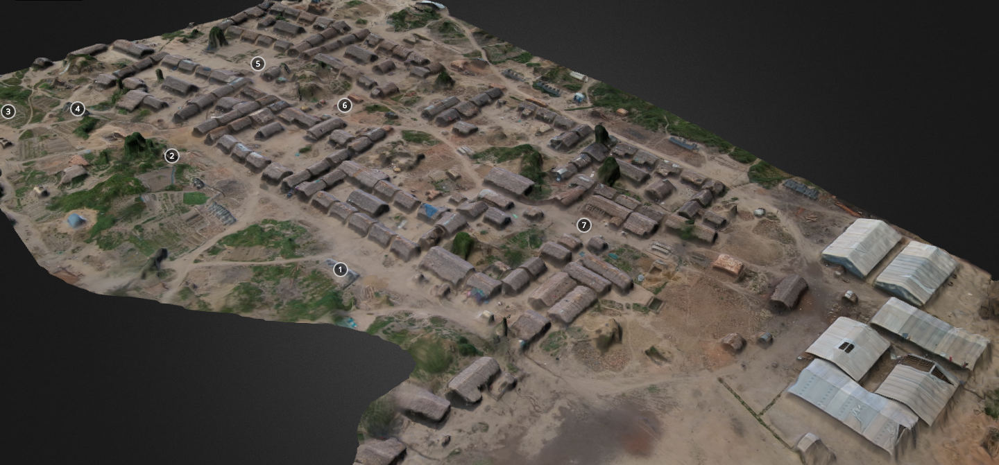 The First Ever 3D Model of a Refugee Camp Made with UAV Imagery