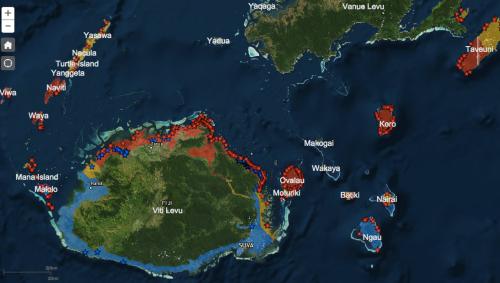 Fiji Crisis Map 2
