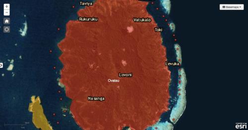 Fiji Crisis Map 4